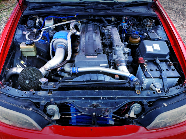 NON-VVTi 1JZ-GTE With TD06-20G TURBO.