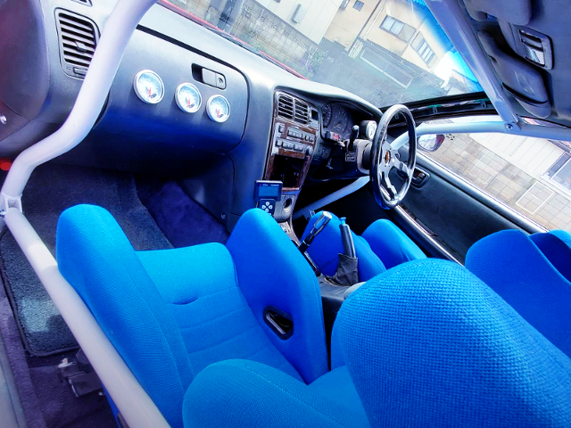 DRIFT CUSTOM INTERIOR OF JZX90 MARK2.