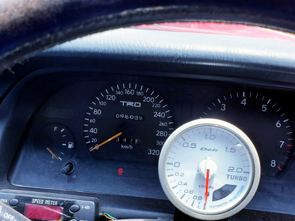 TRD 320km/h SCALE CLUSTER.