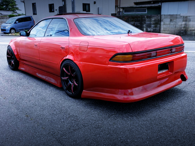 REAR EXTERIOR OF JZX90 MARK2 TOURER-V.
