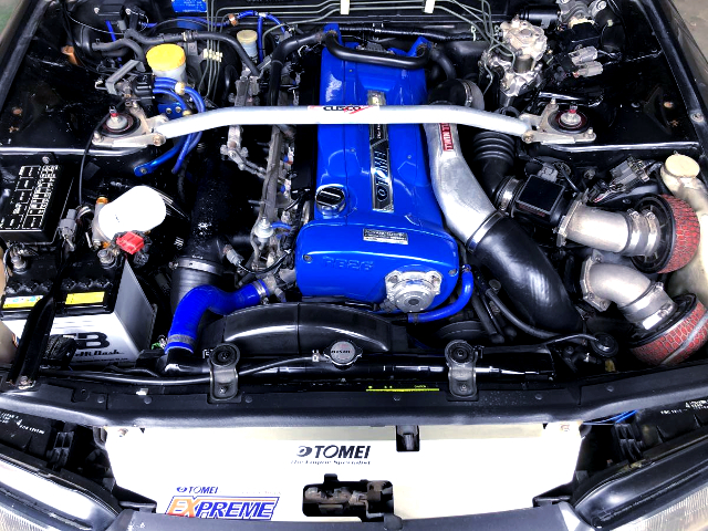 TOMEI BUILT OF RB26DETT TWINTURBO ENGINE.