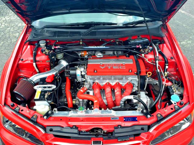 FEEL'S HONDA TWINCAM H22TN COMPLATE ENGINE.