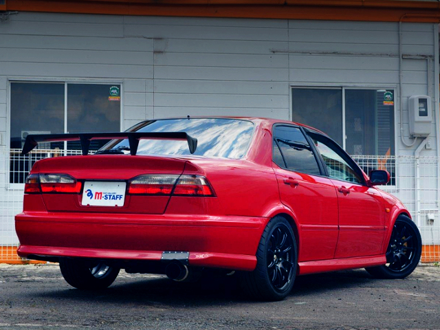 REAR EXTERIOR OF CL1 TORNEO EURO-R TO RED.