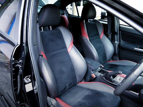 VAB WRX STI INTERIOR SEATS.