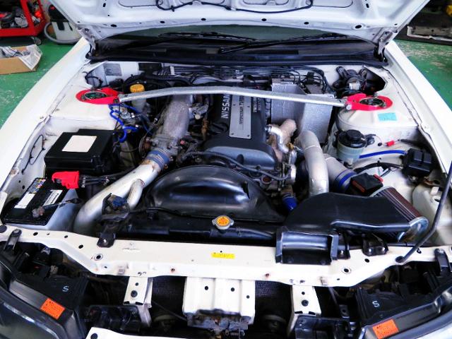 S15 SR20DET TURBO ENGINE.