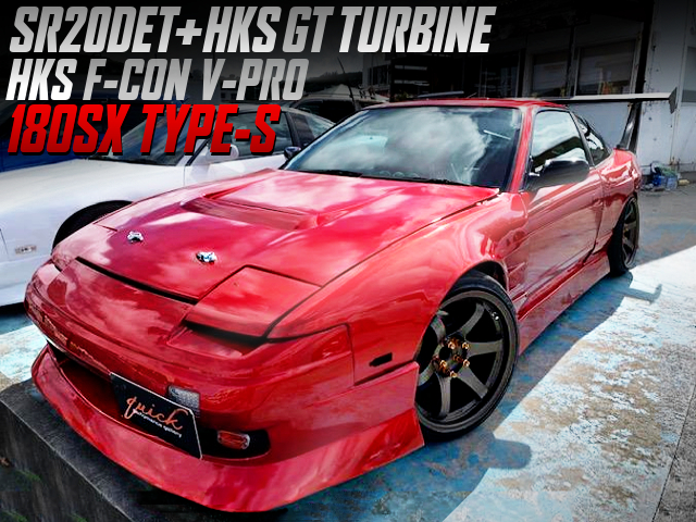 SR20DET With HKS GT TURBINE AND F-CON V-PRO INTO 180SX TYPE-S WIDEBODY.