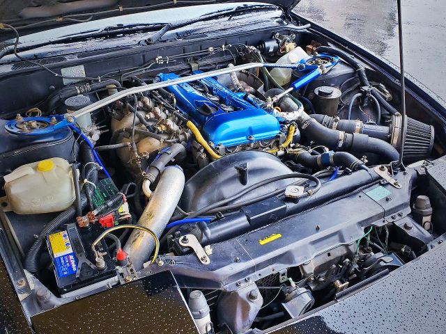 SR20DET TURBO ENGINE OF 180SX MOTOR.