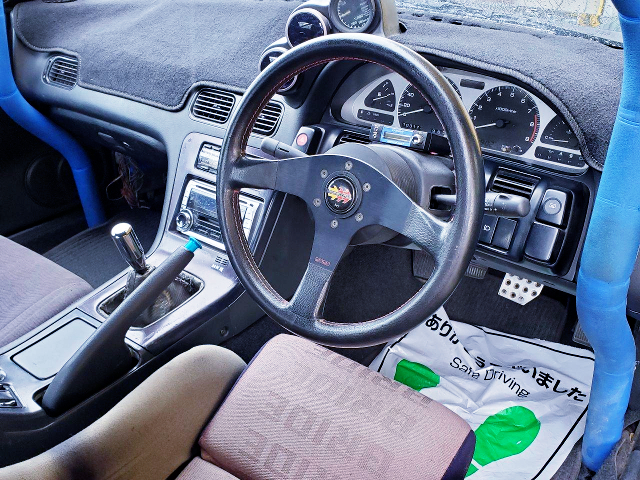 180SX MODIFIED DASHBOARD.