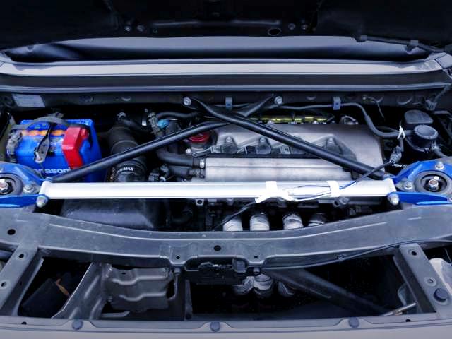 2ZZ-GE ENGINE INTO MR-S ENGINE ROOM.