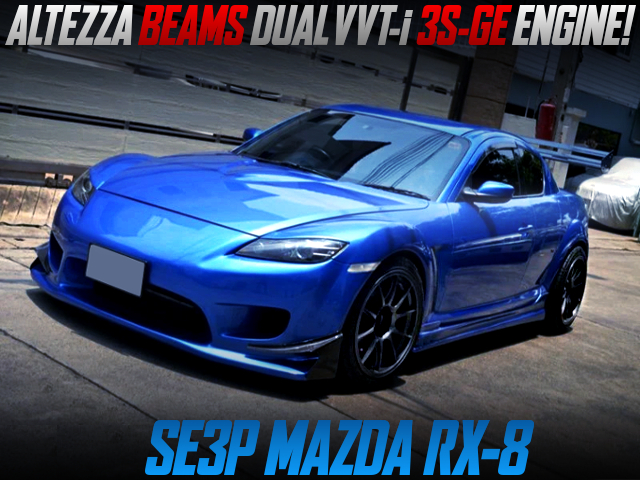 ALTEZZA BEAMS 3S-GE SWAP AND AT With SE3P MAZDA RX8.