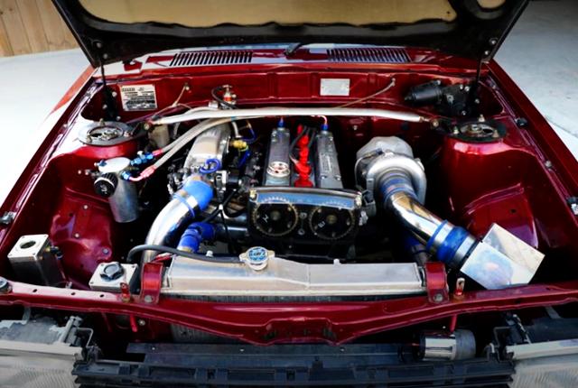 16V 4AG TURBO ENGINE.