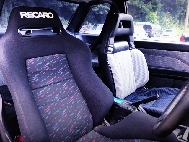 DRIVER'S RECARO BUCKET SEAT.