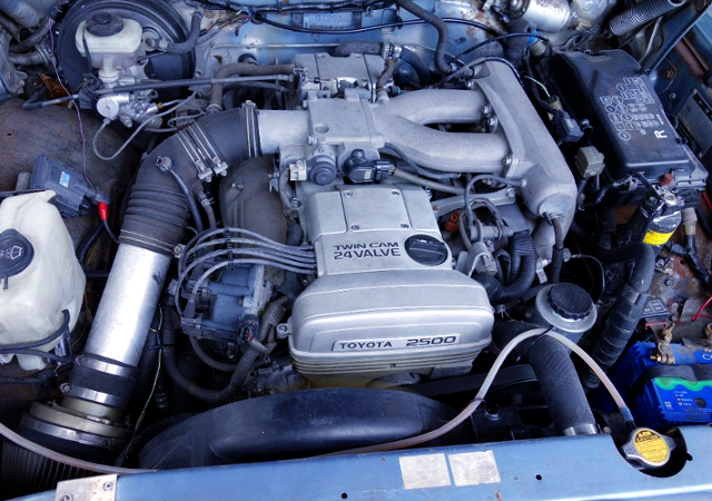 NATURALLY ASPIRATED 1JZ-GE 2.5-Liter ENGINE.