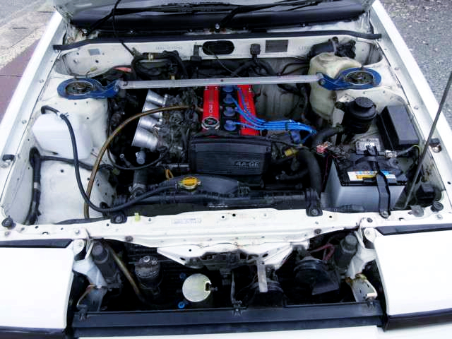 AE92 LATE MODEL 4AGE ENGINE With ITB's.