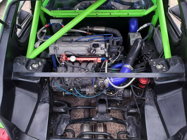 MID-ENGINE TURBO B18C VTEC.
