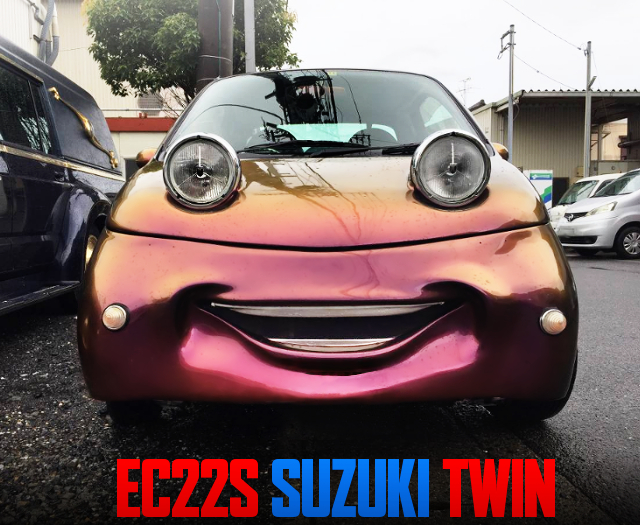 CARS STYLE FACE OF EC22S SUZUKI TWIN.