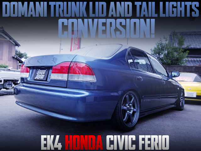 DOMANI REAR END CONVERSION With EK4 CIVIC FERIO.