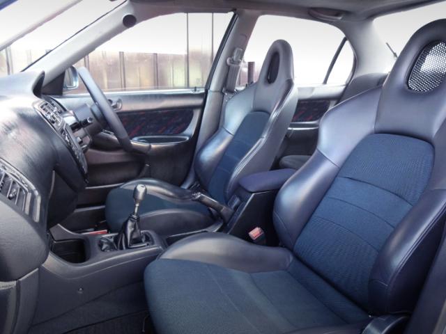 S2000 SEATS CONVERSION OF EK4 CIVIC FERIOR INTERIOR.