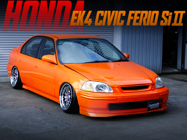 HELLAFLUSH AND XXR531 WHEEL OF EK4 CIVIC FERIO Si2.