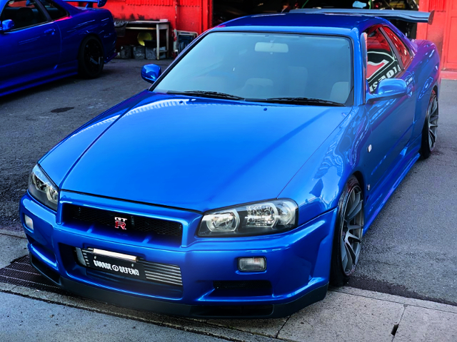 FRONT EXTERIOR GT-R FACE CONVERsION TO ER34 SKYLINE.