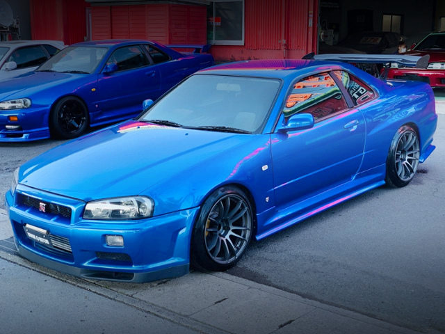 FRONT EXTERIOR OF ER34 SKYLINE 25GT-R TO GT-R STYLE.