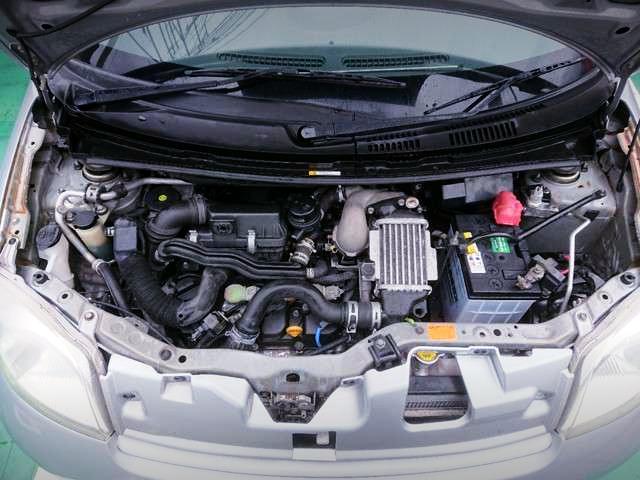 DAIHATSU KF 660cc TURBO ENGINE.