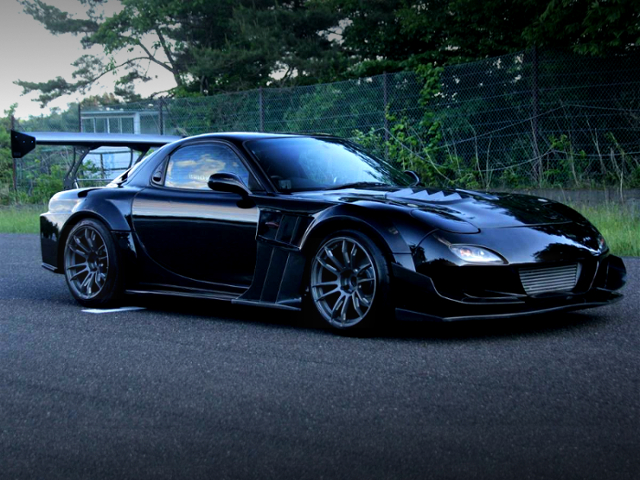 FRONT EXTERIOR OF TCP MAGIC G-FACE RX-7.