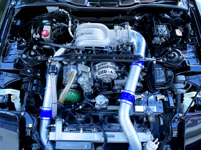 13B-REW ROTARY TURBO ENGINE With SINGLE TURBO CONVERSION.