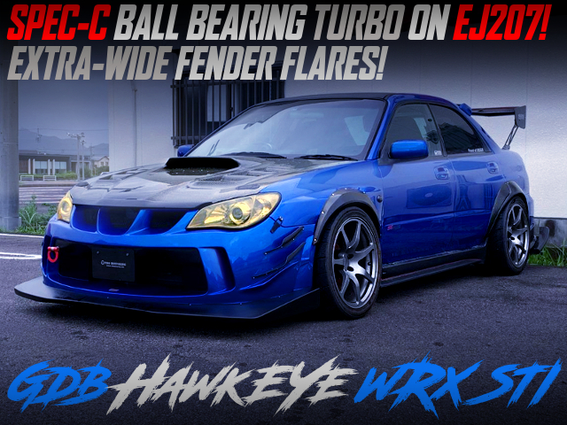 SPEC-C BALL BEARING TURBO ON EJ207 With GDB HAWK EYE WRX STI WIDEBODY.