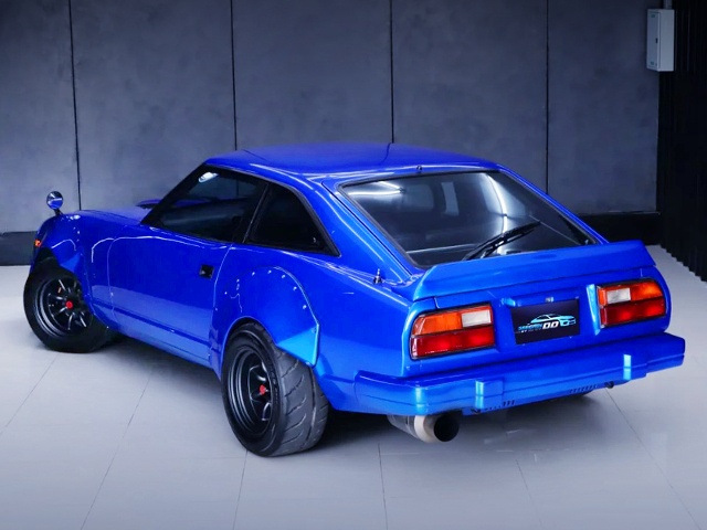REAR EXTERIOR OF GS130 FAIRLADY Z 2BY2.