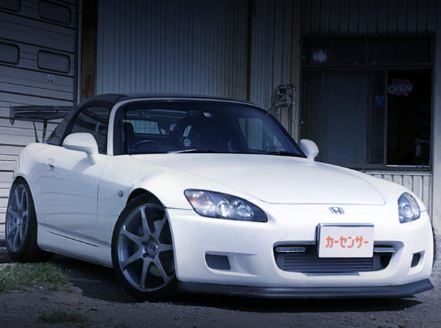 FRONT EXTERIOR OF S2000 WHITE.