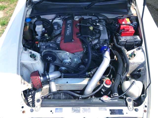 F20C VTEC SUPERCHARGER ENGINE.
