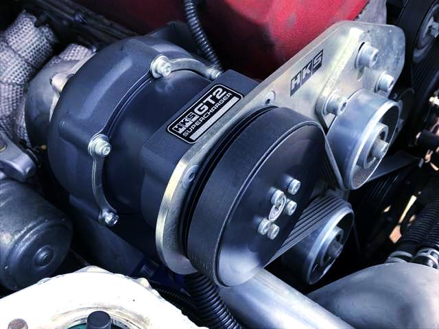 HKS GT2 SUPERCHARGER.