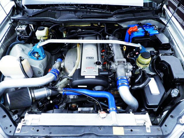 VVT-i 1JZ TURBO ENGINE.