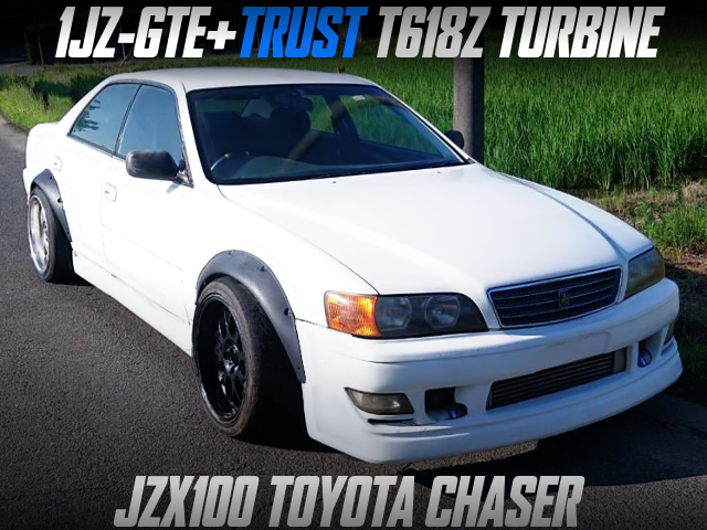 T618Z TURBO on 1JZ-GTE with 5MT INTO JZX100 CHASER.