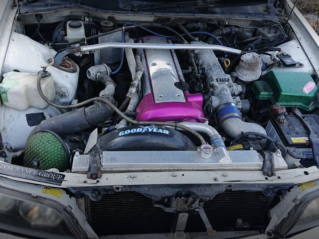 VVT-i 1JZ-GTE 205-liter TURBO ENGINE.