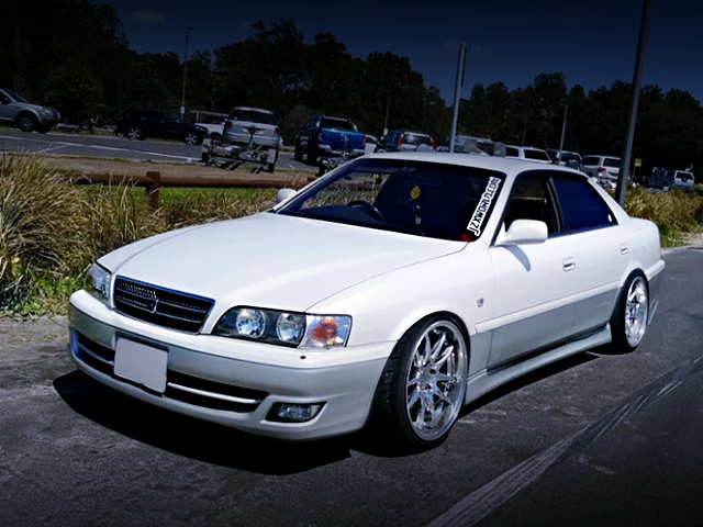 FRONT EXTERIOR OF JZX101 CHASER AVANTE G.