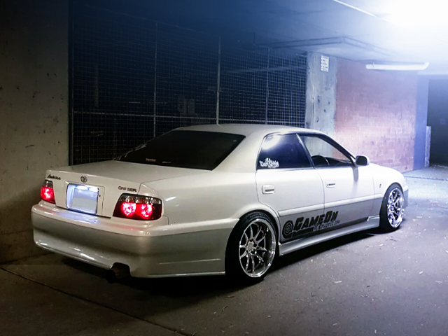 REAR EXTERIOR OF JZX101 CHASER AVANTE G.