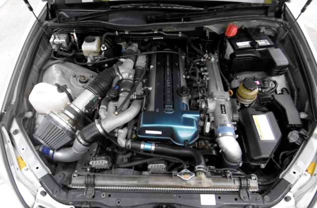 2JZ-GTE TWINTURBO ENGINE.