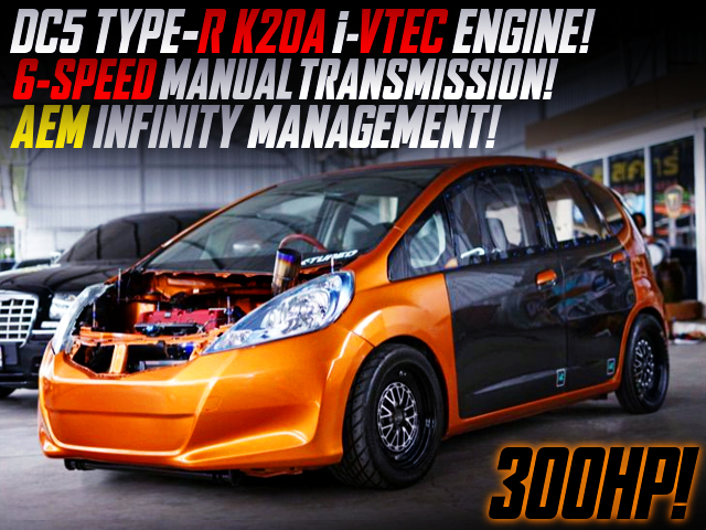 TYPE-R K20A AND 6MT SWAPPED GE HONDA JAZZ TO JDM 2nd Gen FIT.