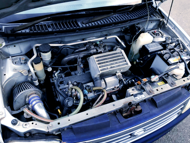 660cc INLINE-THREE EF-DET TURBO ENGINE.
