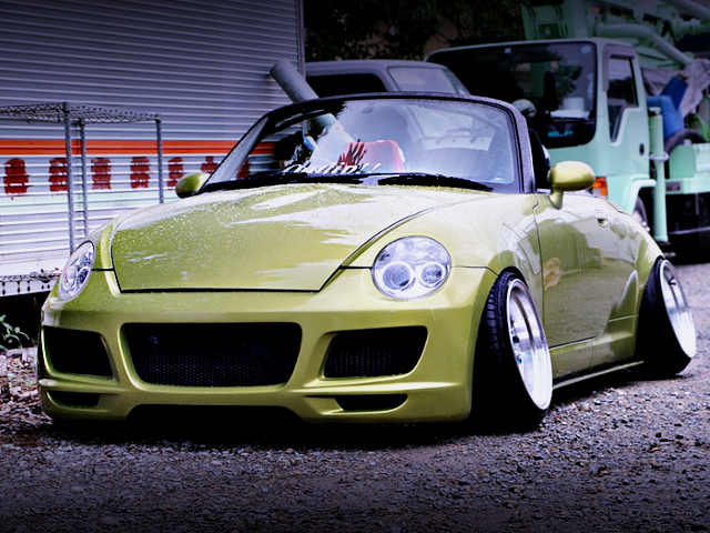 FRONT EXTERIOR OF CAMBER L880K COPEN.
