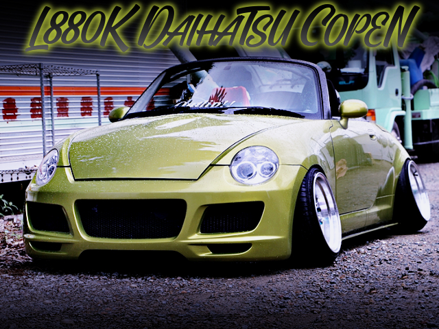 STANCE CAMBER OF L880K COPEN ACTIVE TOP.