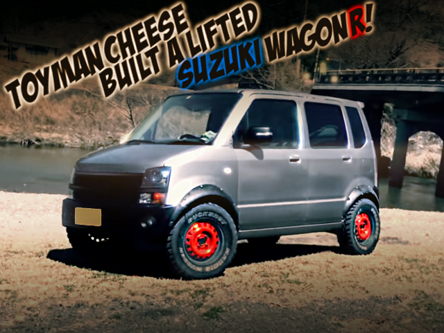 LIFTED MH22S SUZUKI WAGON-R.