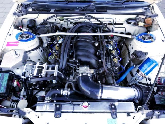 LS6 INTAKE ON LS1 5.7L V8 ENGINE.