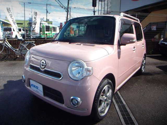 FRONT EXTERIOR OF L675S MIRA COCOA PINK.
