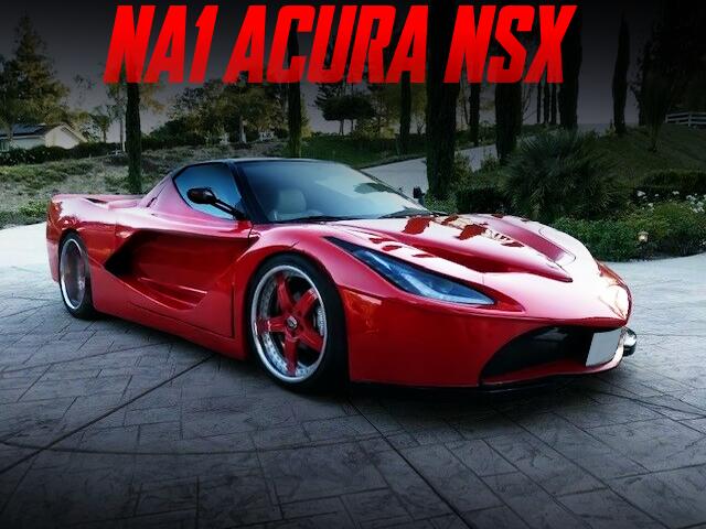 laferrari BODY STYLE OF NA1 ACURA NSX.