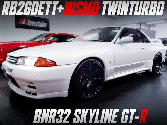 NISMO TWINTURBO ON RB26DETT WITH R32 GT-R WHITE.
