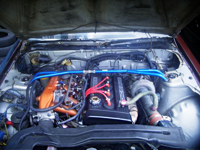 TO4E TURBO ON FJ20ET ENGINE.