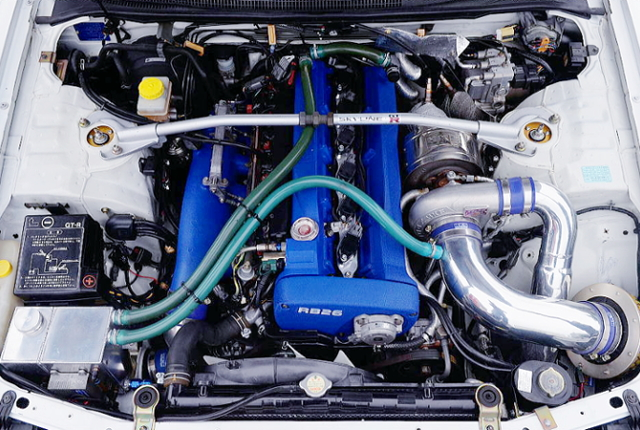 TO4Z TURBOCHARGED RB26 2.7-LITER ENGINE.
